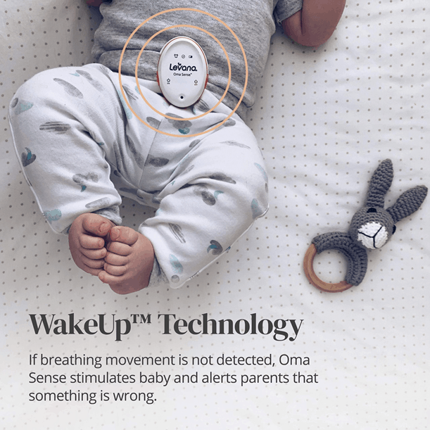WakeUp technology is one of the best Levana baby monitor features. - Levana Baby Monitor Review   Baby Journey