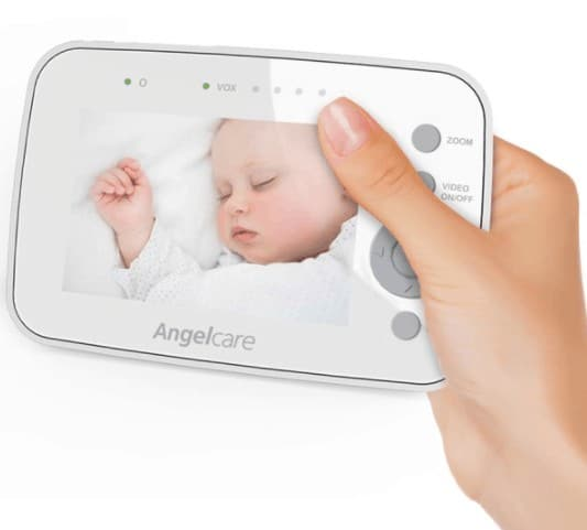 Crystal clear video on the parent unit. - Angelcare AC1300 review   Baby Journey