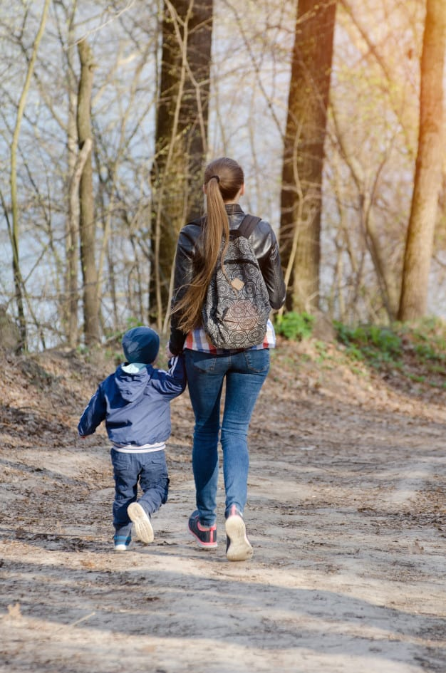 Walking early helps your child develop safety skills. - How Old is Too Old for a Stroller? | Baby Journey
