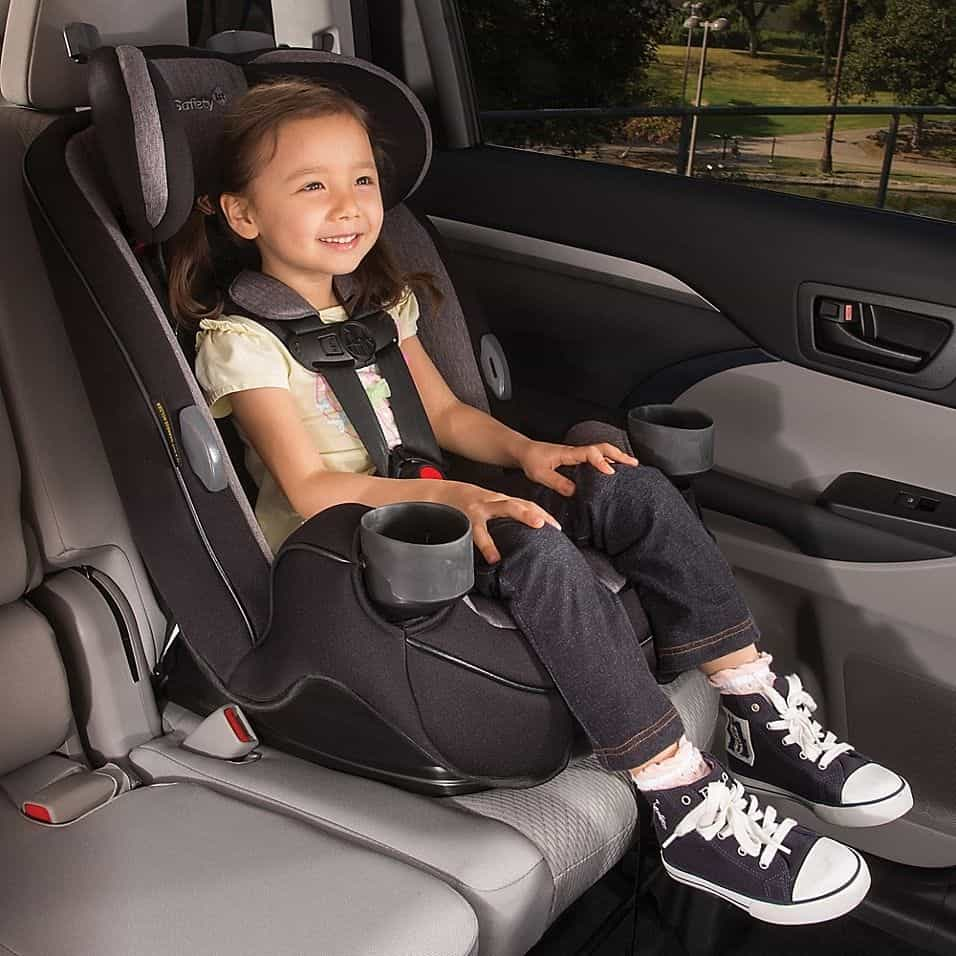 A high back booster seat makes for a safer ride in the car. - Best High Back Booster Seat | Baby Journey