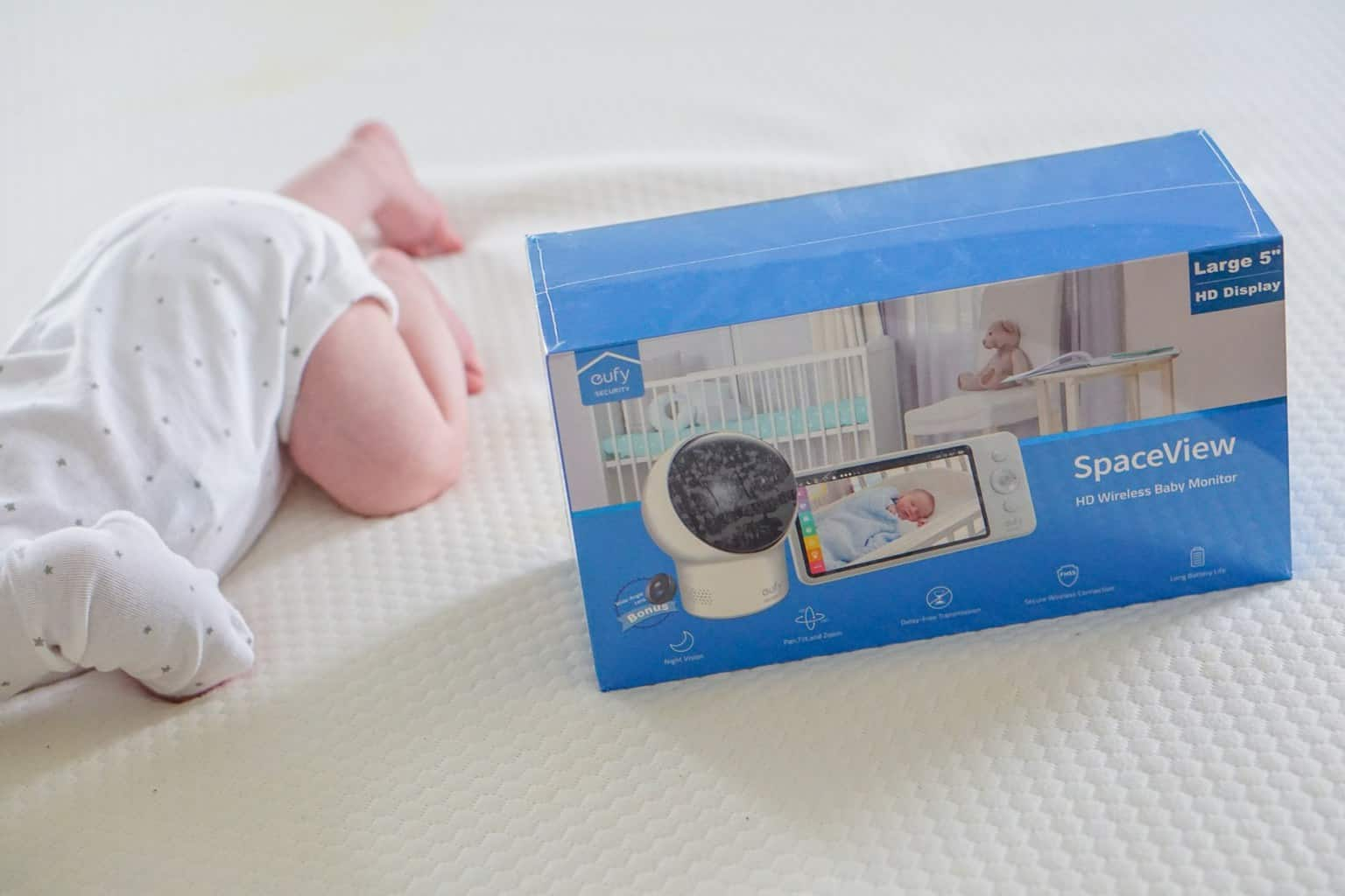Eufy SpaceView comes with everything you need to plug and play. - Eufy SpaceView Baby Monitor Review | Baby Journey