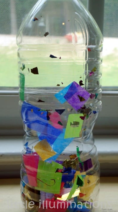 www.prekandksharing.blogspot.com   Discovery bottles, Science for kids,  Science activities for kids