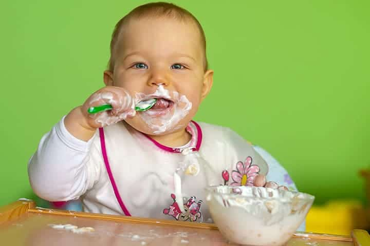 Full Fat Yogurt as a Delicious Treat | Superfoods for Baby | Baby Journey