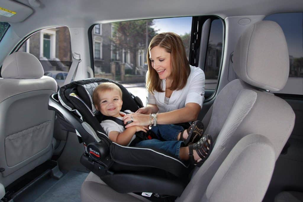 It is advisable for your 1-year-old toddler to be seated rear-facing in the car seat for safety purpose. - Best Car Seat for 1 Year Old | Baby Journey