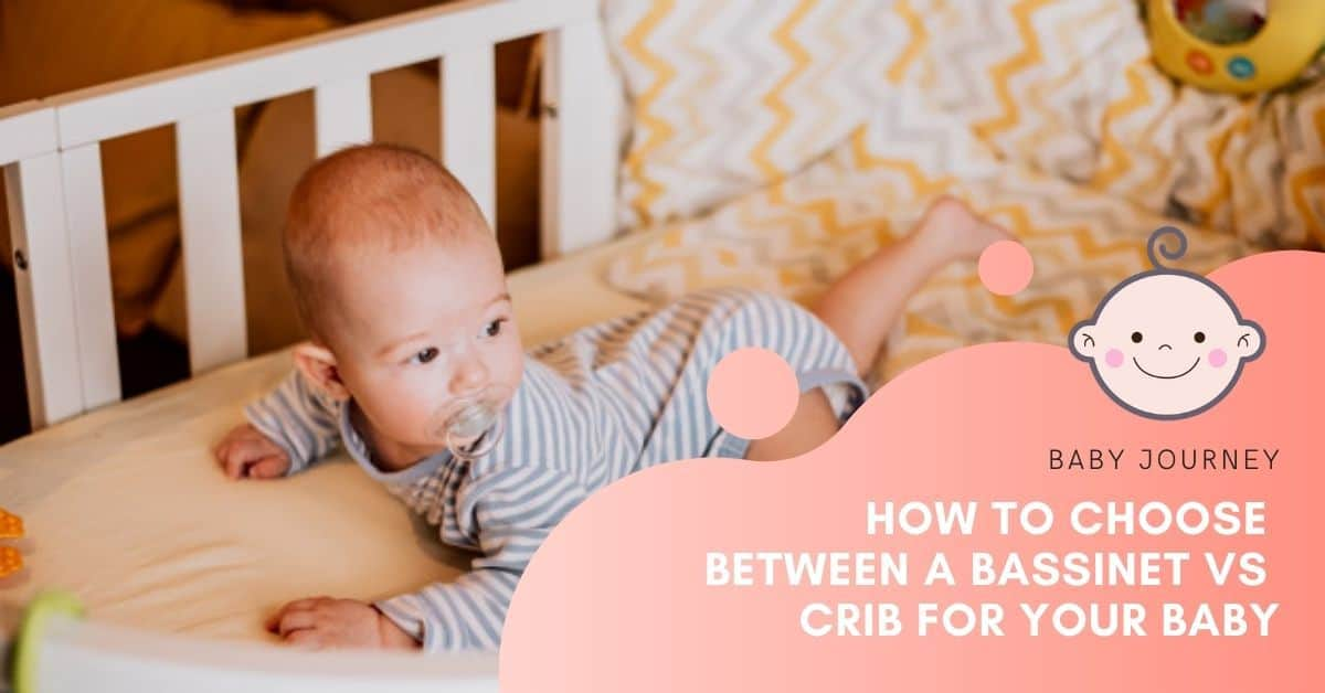 bassinet vs crib | Baby Journey