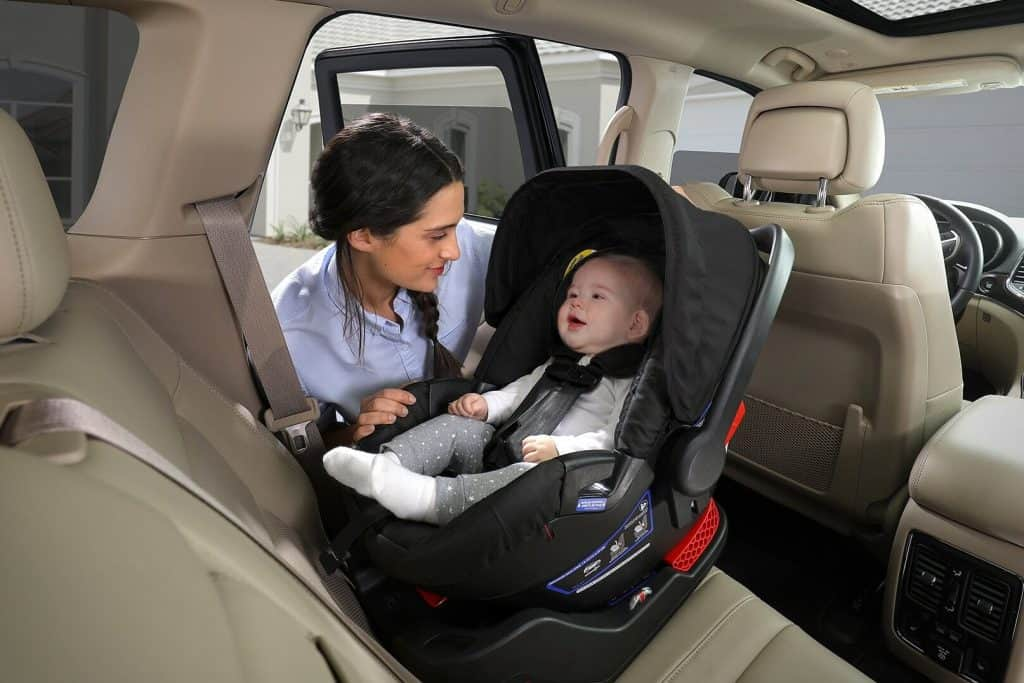 Both B-Safe 35 and Ultra seats have a 5-point harness system. -Britax B-Safe 35 Review | Baby Journey