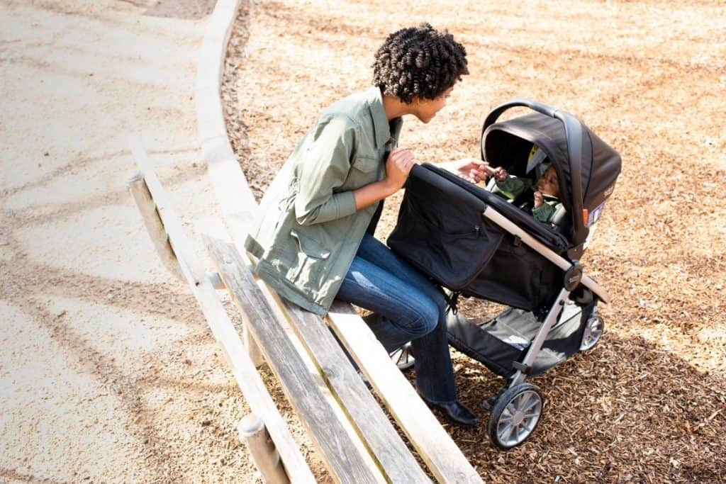The B-Lively stroller and B-Safe 35 car seat make a perfect travel system! -Britax B-Safe 35 Review | Baby Journey