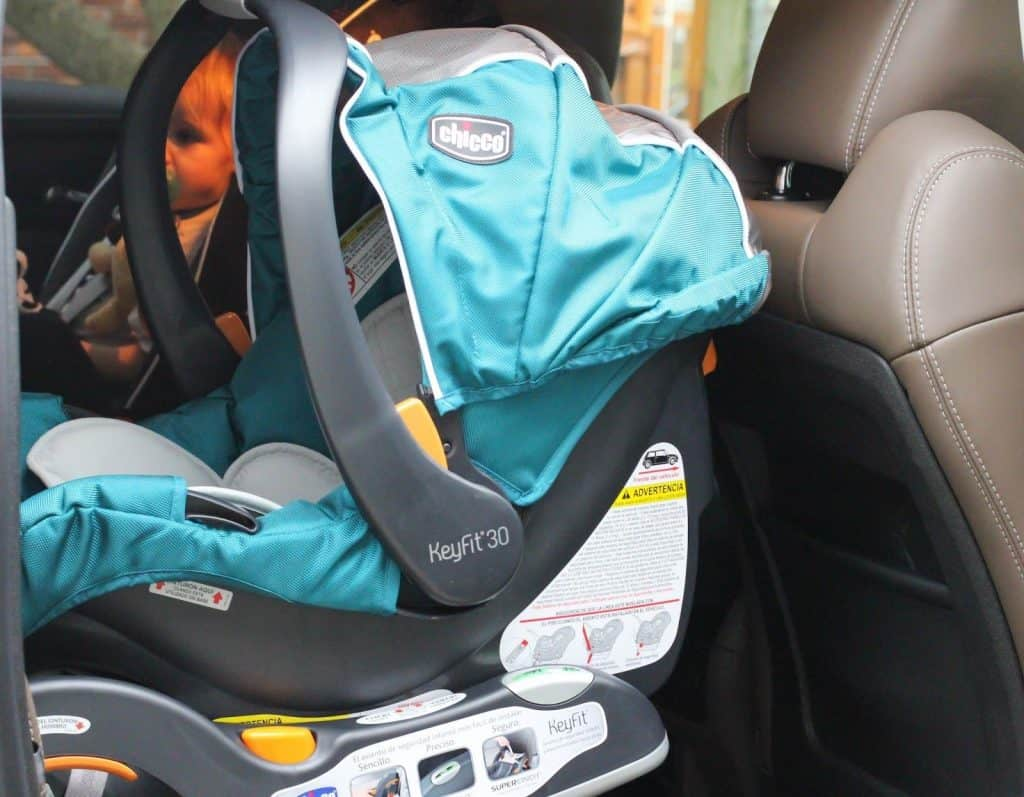 The KeyFit 30 has well-labeled installation instructions. - Chicco KeyFit 30 Infant Car Seat Review | Baby Journey