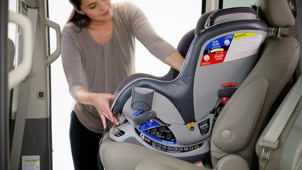 With nine recline positions, recline handle and you will have no problems finding the right angle. - Chicco NextFit Car Seat Review | Baby Journey