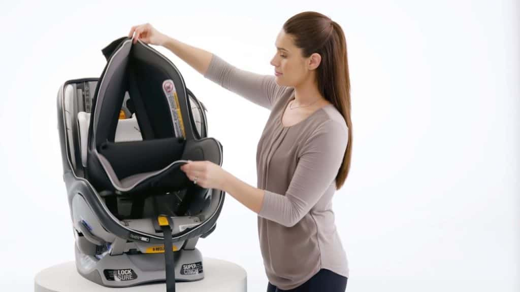 Once the cover wears out, you can replace it with the new one! - Chicco NextFit Car Seat Review | Baby Journey