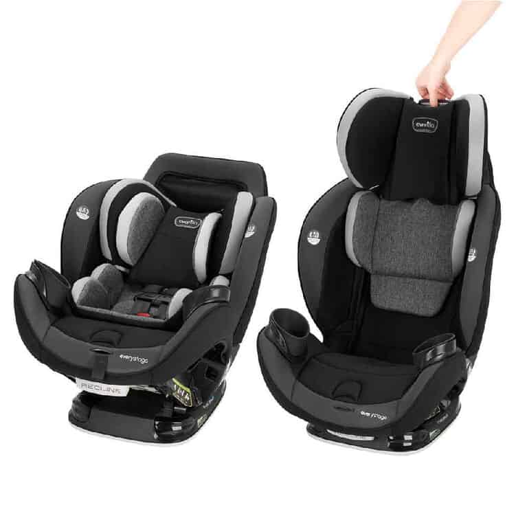 A convertible car seat can be used in multiple ways. - How to Choose A Car Seat | Baby Journey