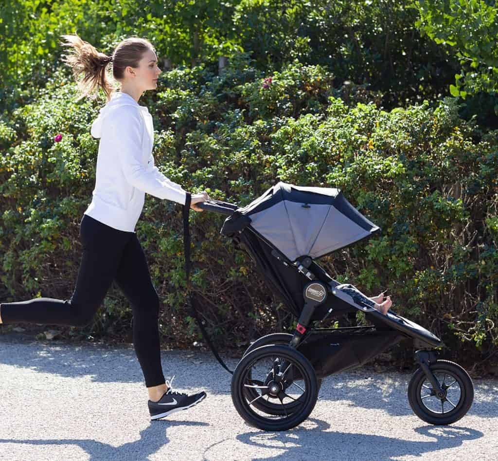Jogging with your baby provides a great workout. - When Can You Jog with Baby? | Baby Journey