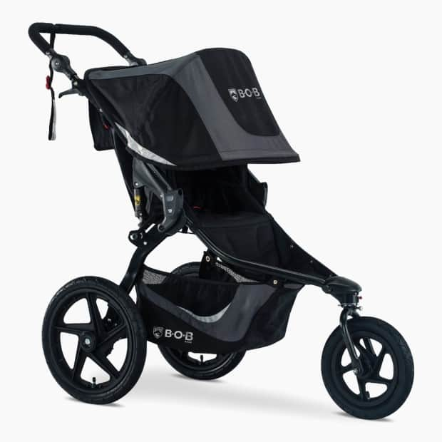 Jogging strollers have a lot of different safety features that make them good for running. - When Can You Jog with Baby? | Baby Journey