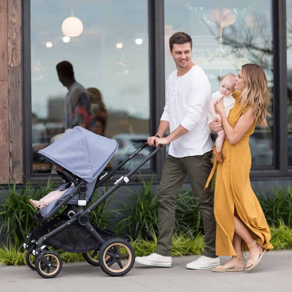 A regular stroller is best for walking.- When Can You Jog with Baby? | Baby Journey