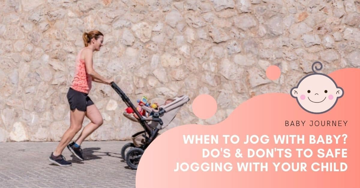 jog with baby | Baby Journey