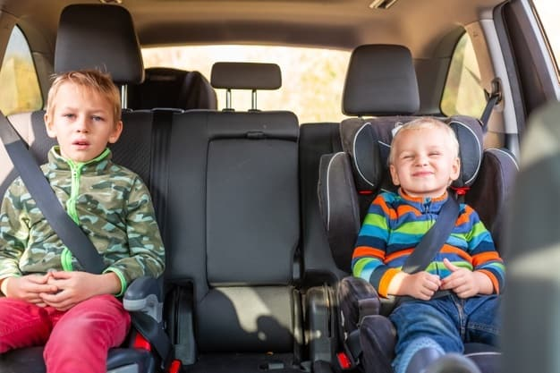 A booster seat makes for a safer ride for toddlers and older. - Best Booster Seats Review | Baby Journey