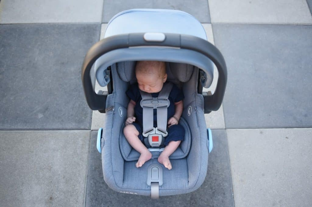 The UPPAbaby infant car seat is built to keep your baby comfortable. - UPPAbaby MESA Vs Nuna Pipa Review | Baby Journey