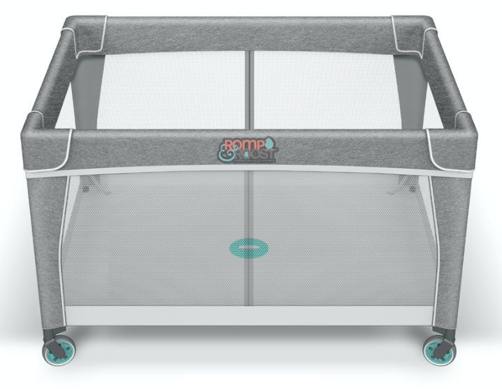 Romp & Roost Luxe Oversized Playard. - Best Playards for Twins | Baby Journey