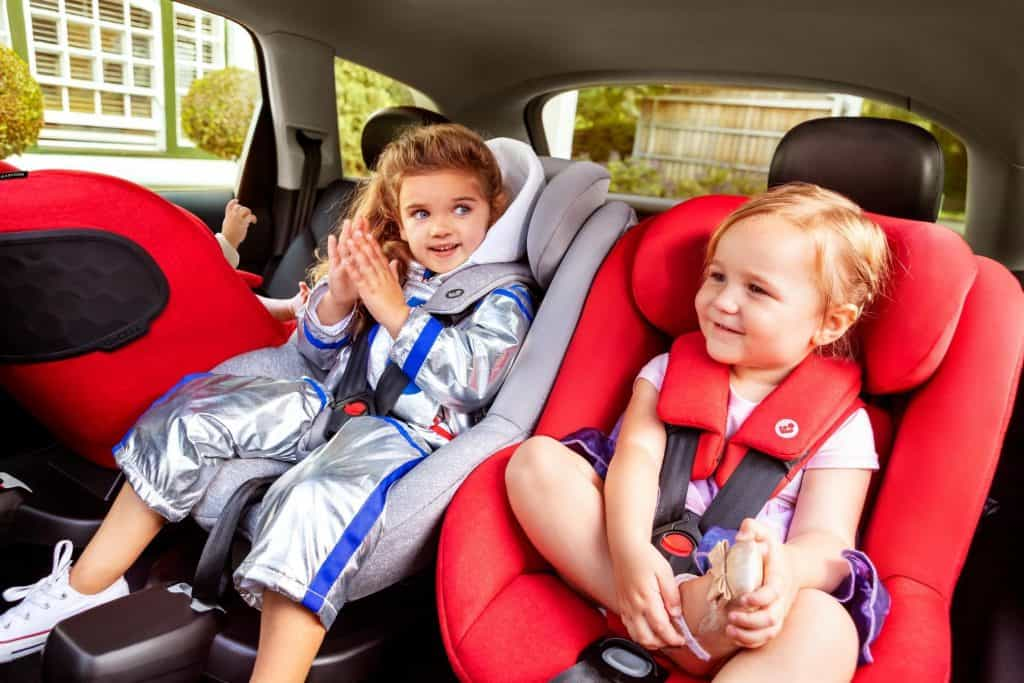 Parents who have two or more children should check if they can install all seats in the car at the same time. - Best Car Seat For 2 Year Old | Baby Journey