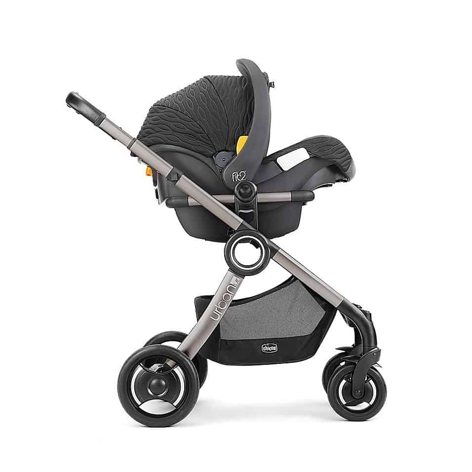 Chicco Fit2 is compatible with Chicco strollers. - Chicco Fit2 Review | Baby Journey