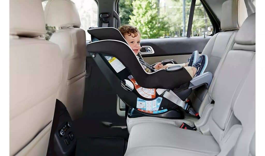 The LATCH installation method is a breeze for this seat but the seat belt installation is a bit trickier. - Graco Extend2Fit Review | Baby Journey