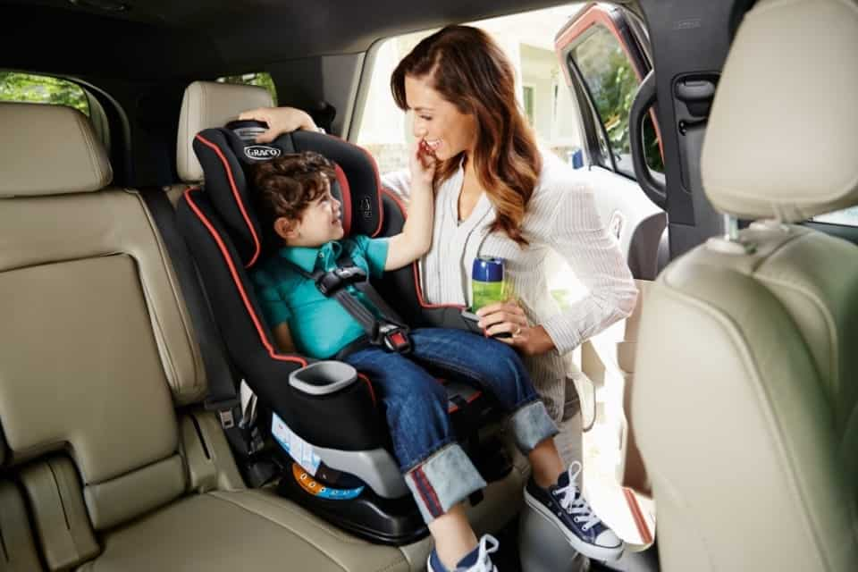 The ProtectPlus impact protection helps keep your child safe from sudden impacts from the front, rear, side, including rollover crashes.- Graco Extend2Fit Review | Baby Journey