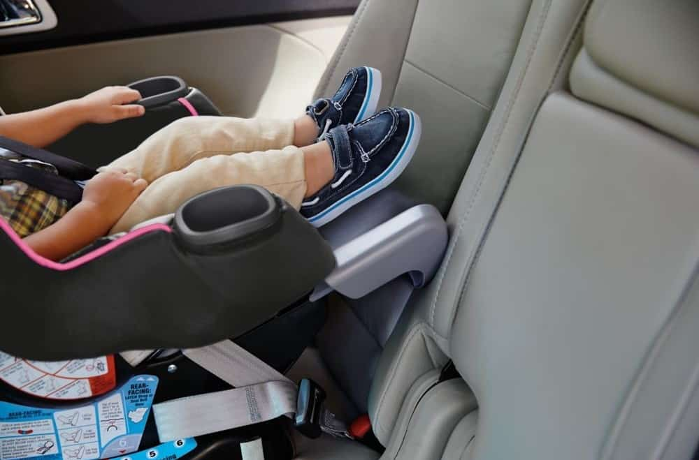 The legroom extension panel. - Graco Extend2Fit Review | Baby Journey