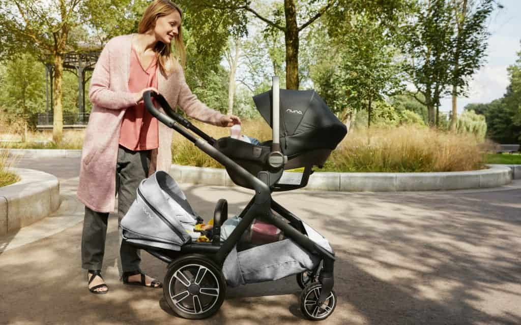 You can recline the seats in 3 different positions on the Nuna DEMI Grow. - Nuna DEMI Grow Convertible Stroller Review | Baby Journey