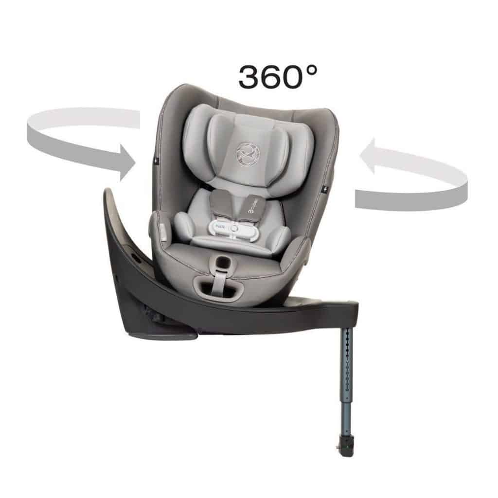 Convertible car seats have mechanisms to shift from rear to front-facing positions. - Convertible car seat vs all in one car seat   Baby Journey