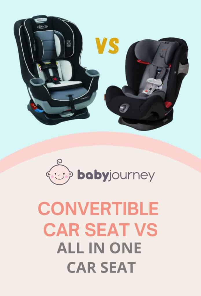 Convertible car seat vs all in one car seat   Baby Journey