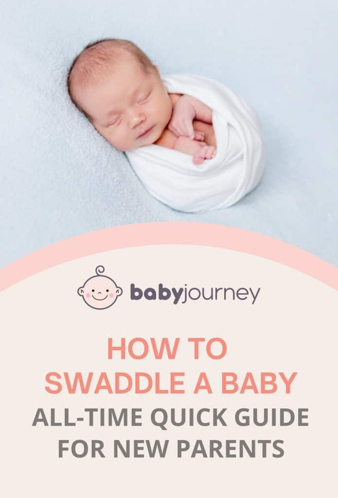 How to swaddle a baby | Baby Journey