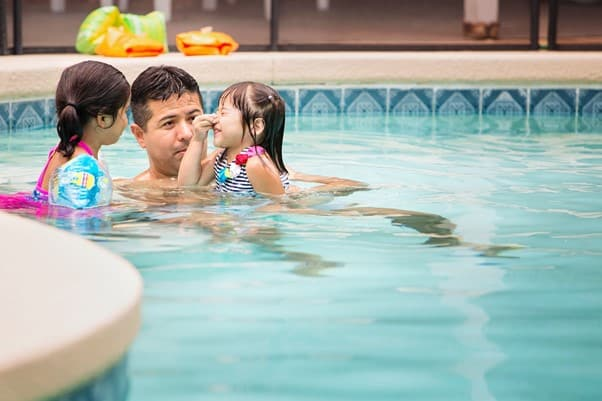 It is safer to teach toddlers how to swim when they are 1 or older | A Guide On How to Teach A Toddler to Swim | Baby Journey