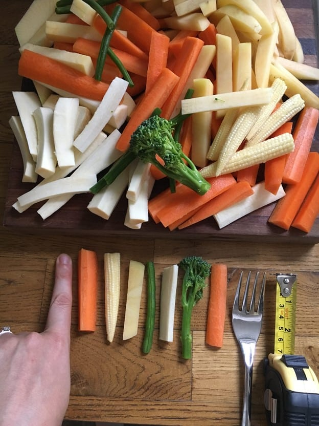 Veggie Sticks l 20 Best Finger Foods for Your Baby to Try Today l Baby Journey