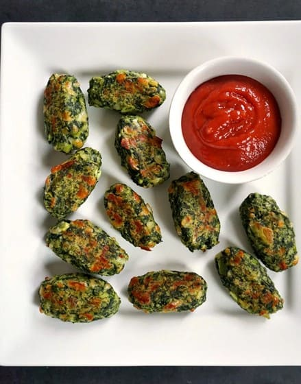 Baked Veggie Tots l 20 Best Finger Foods for Your Baby to Try Today l Baby Journey