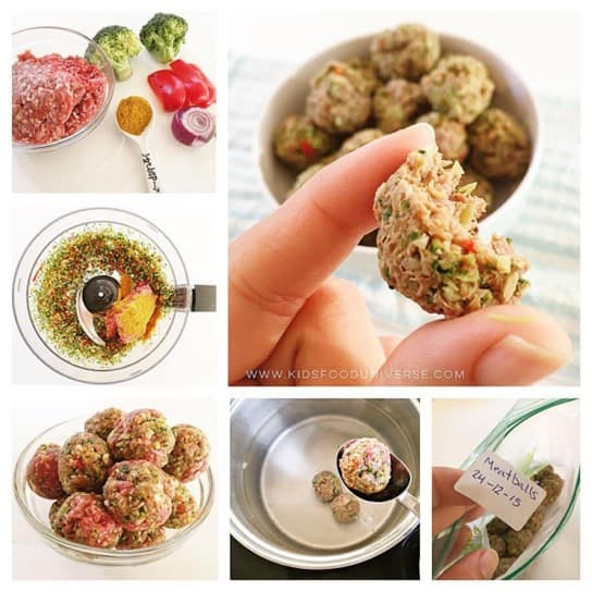 Baby Sized Meatballs l 20 Best Finger Foods for Your Baby to Try Today l Baby Journey