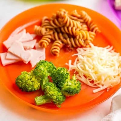 Cooked and Cut Whole Wheat Pasta l 20 Best Finger Foods for Your Baby to Try Today l Baby Journey