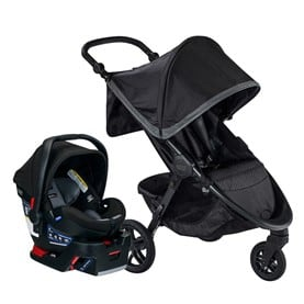 It is easy to create a travel system with the B-Safe Gen2 and Britax strollers. The All New Britax B-Safe Gen2 Review 2021 l Baby Journey