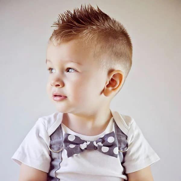 Fauxhawk. - 10 All-Time Popular Toddler Boy Haircuts | Baby Journey