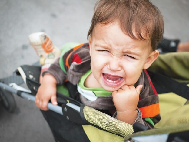 Crying, bending, trying to escape the stroller are just ways your baby is trying to tell you that it won't ride in the stroller | What To Do When Your Baby Hates Stroller | Baby Journey