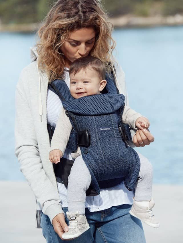 Carrier is compact, easy to use, safe, keeps your hands free, and keeps the baby closer to you, which has a calming effect | What To Do When Your Baby Hates Stroller | Baby Journey
