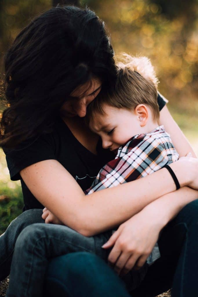 Acts of affection are important even while enforcing discipline.- 12 Great Tips & Tricks On How To Discipline A Toddler From The Start | Baby Journey