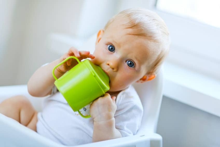 Sippy cups make it easier to wean away from bottles | When To Introduce A Sippy Cup to Your Baby | Baby Journey
