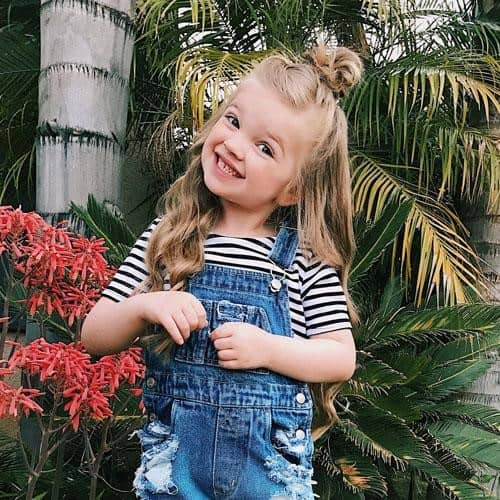 Top 23 Lovely Toddler Girl Haircuts & Hairstyles Ideas   Baby Journey