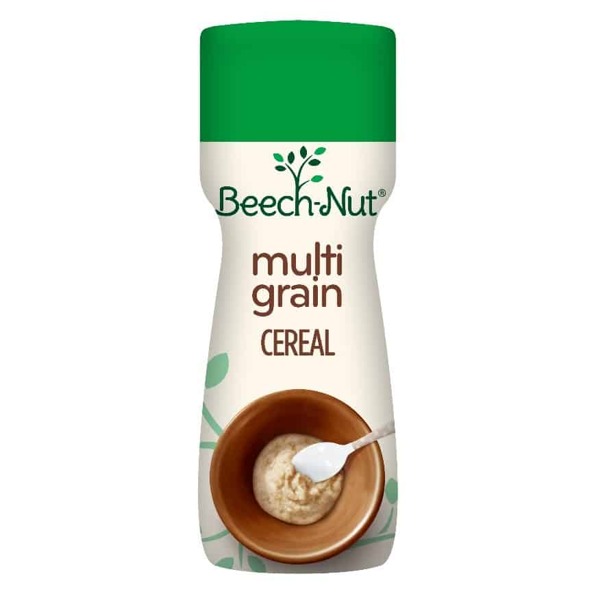 Beech-Nut Stage 1, Multigrain Baby Cereal. When Can Babies Eat Rice Cereal | Baby Journey