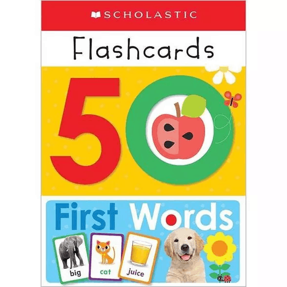 Flash Card Set | First Birthday Gift for Boy | Baby Journey