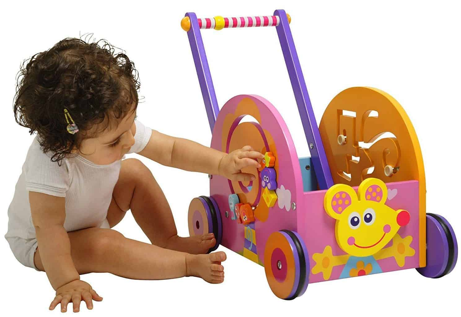 Baby Push Walker | First Birthday Gift Ideas for Girl | Baby Journey