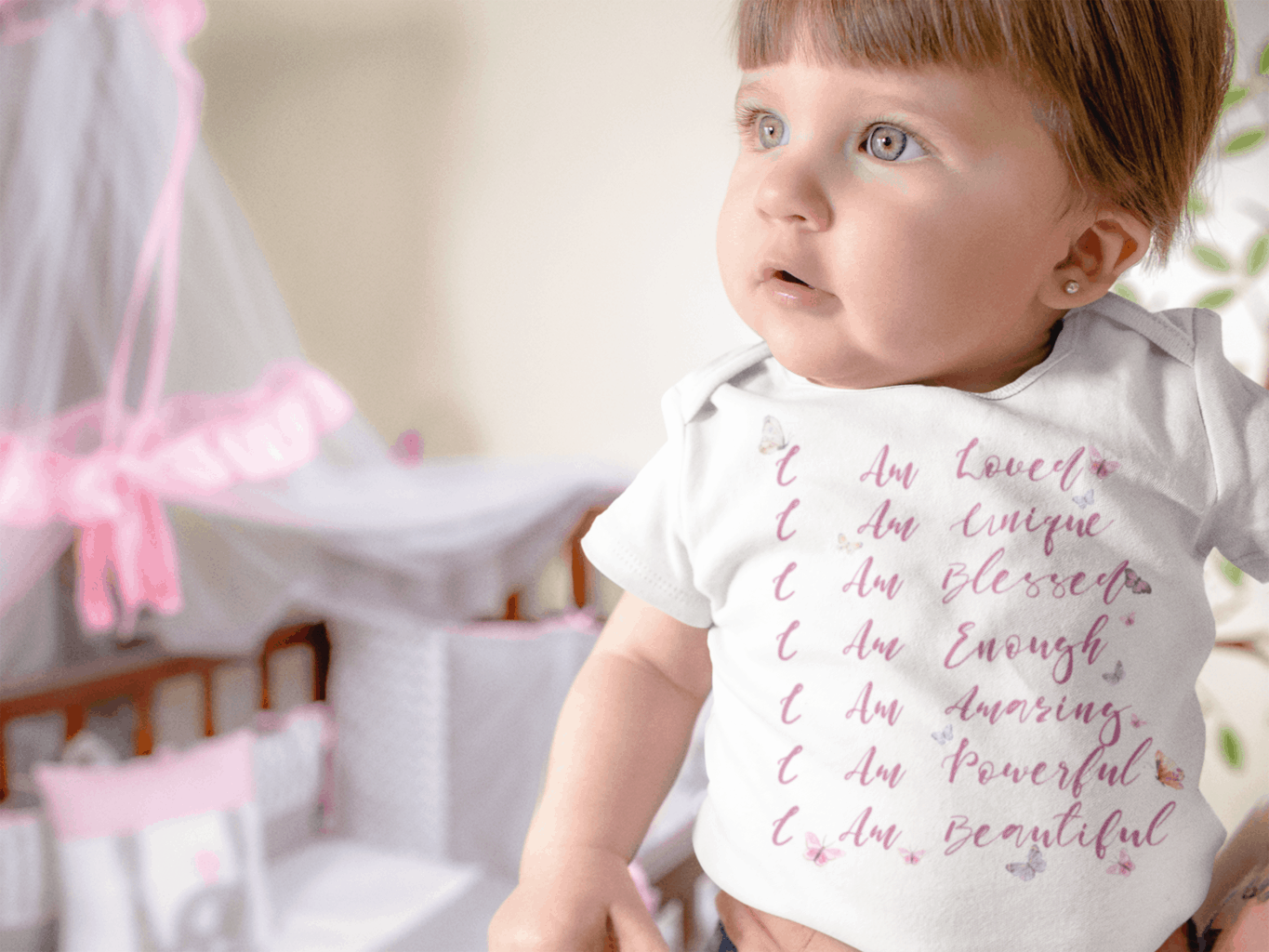 Onesie with a message | First Birthday Gift Ideas for Girl | Baby Journey