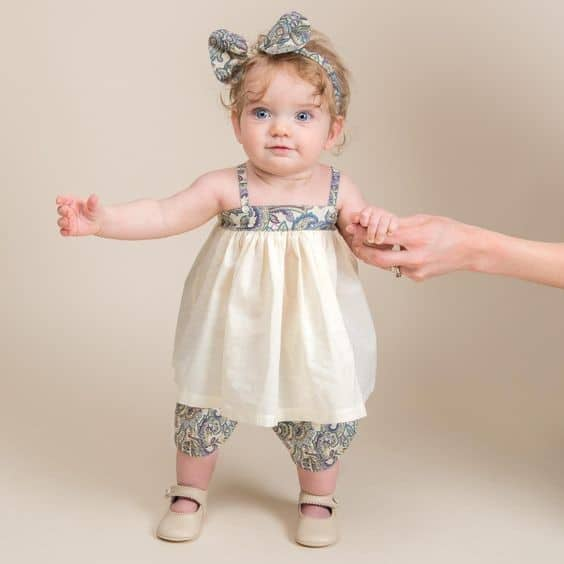 Dress set | First Birthday Gift Ideas for Girl | Baby Journey