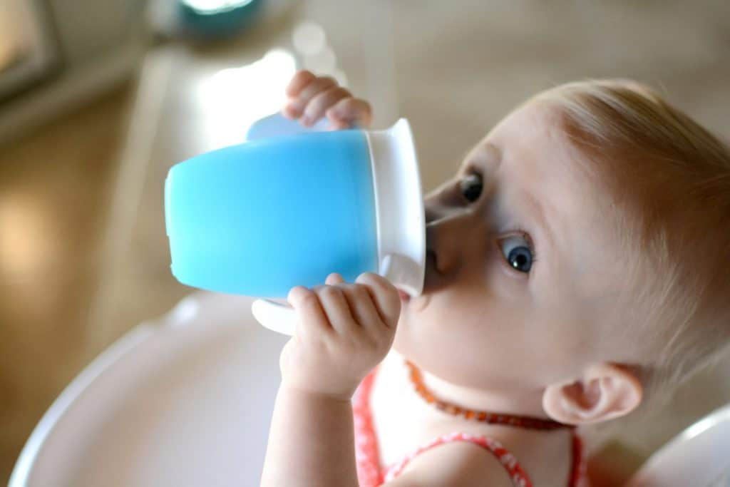 A baby can drink from anywhere on the top of the 360 sippy cup.- Sippy Cup vs Bottle: Pros & Cons, When to Swap and More  | Baby Journey