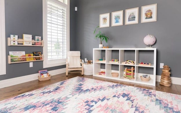 Keep things simple and peaceful in your playroom. - How to Create a Montessori Playroom   Baby Journey